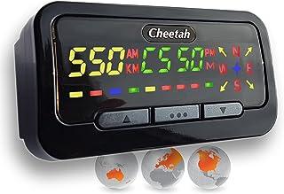 Cheetah GPS C550ganador de premio, indica la velocidad y tiene detector de cá