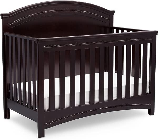 西蒙斯儿童沉睡时间艾玛敞篷车婴儿床 N 更多黑色浓缩咖啡