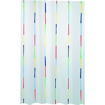 Spirella Primo Rideau de Douche en Polyester Blanc 120 x 200 cm