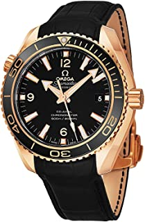 Omega Seamaster Planet Ocean 232.63.46.21.01.001 18K Rose Gold Automatic Men's Watch