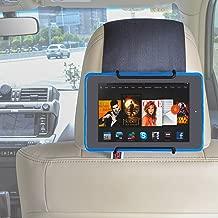 TFY Car Headrest Mount Holder for All Kindle Fire - Kindle Fire HD 6 / HD 7 / HD X7 / HD X9 / HD 6 (2014) / HD 7 (2014) / HD 6 (Kid Edition) / HD 7 (Kid Edition) / New Fire 7 (2015) / HD 8 / HD 10