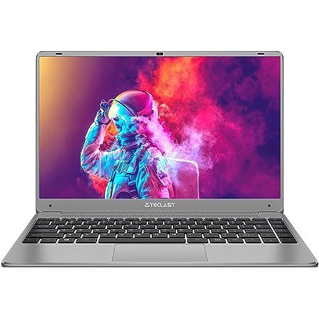 TECLAST Ordenador Portátil 14.1 Pulgadas F7 Plus 3 Windows 10 Laptop 8GB RAM 256GB SSD 2.6 GHz Cuatro Core Intel Gemini Lake N4120, IPS FHD 1920×1080, Más de 1TB Expandible, 5G WiFi