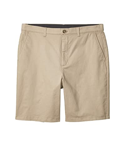 Calvin Klein Refined Stretch Chino Shorts (Sueded Taupe) Men