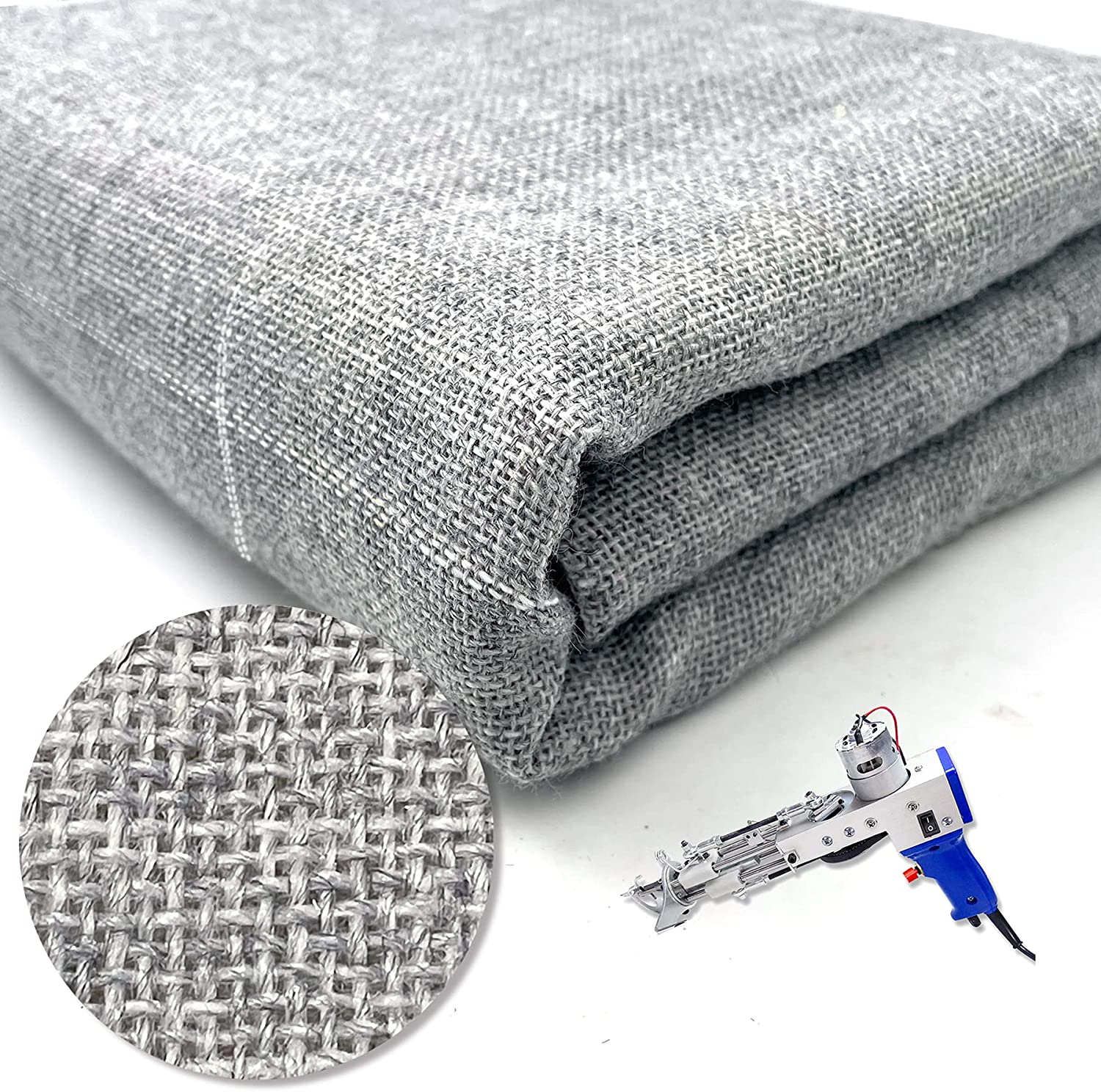 2021 new Primary Tufting Cloth with Marked Lines Manufacturer regenerated product Large F Needlework Size