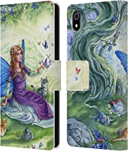 Official Meredith Dillman Friend Fairy Leather Book Wallet Case Cover Compatible for Xiaomi Redmi 7A (2019)