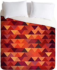Deny Designs Iveta Abolina Trianglerain Duvet Cover, King