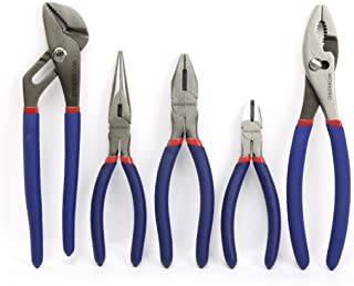 WORKPRO 5-piece Pliers Set Basic Homeowners' Tools