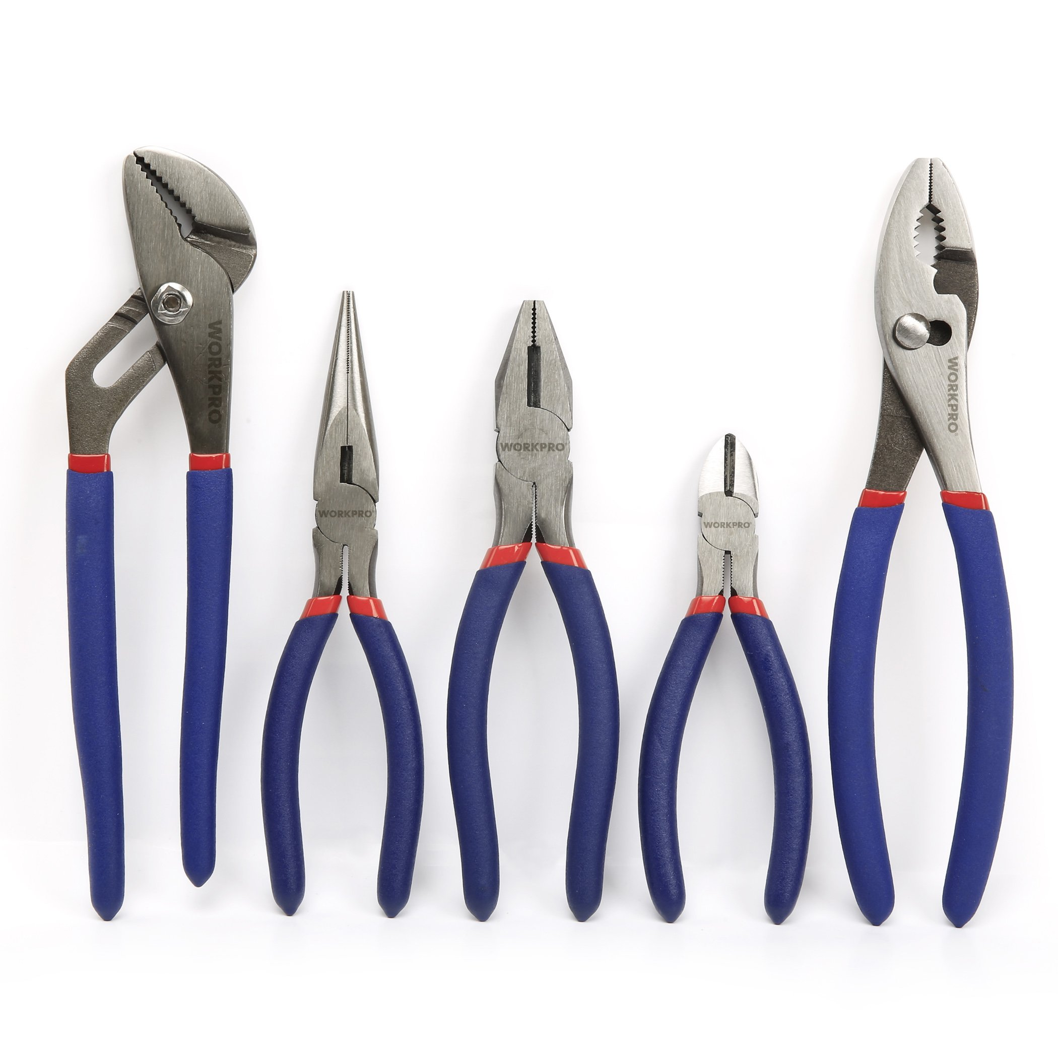 WORKPRO 5 piece Pliers Basic Homeowners