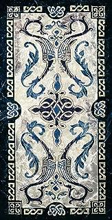 Celtic Design I | Woven Tapestry Wall Art Hanging | Irish Tribal Symbolic Knots | 100% Cotton USA Size 53x25