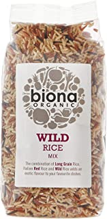 Biona Organic Wild Rice Mix(Brown, Red & Wild Rice), 500g