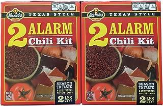 Wick Fowler's Texas Style 2 Alarm Chili Kit (2 Boxes - 3.3 oz each)