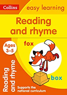 Reading and Rhyme Ages 3-5: Ideal for Home Learning