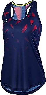 Mizuno 440536. 5110. 07. XL ملابس كرة الطائرة الشاطئية الحمراء البحرية