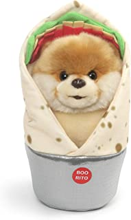 GUND Boo World's Cutest Dog Boo-Rrito Burrito Stuffed Animal, Multicolor, 9