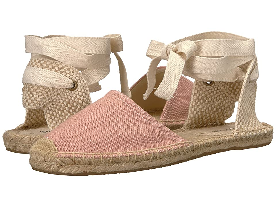 Soludos Classic Sandal (Dusty Rose) Women