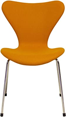 Design Tree Home Series 7 Inspired Accent Chair, Orange Cashmere