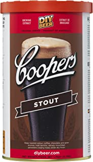 coopers stout home brew