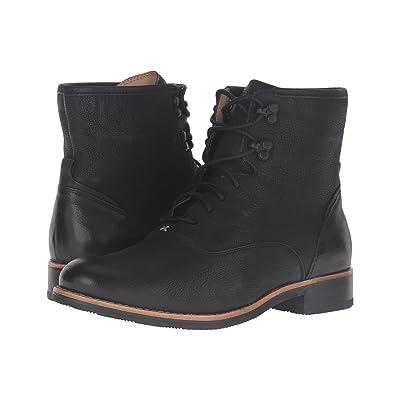 Sebago Jayne Mid Boot (Black Leather) Women