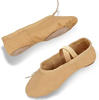 DIPUG Ballet Shoe Ballet Slippers for Girls Toddler...