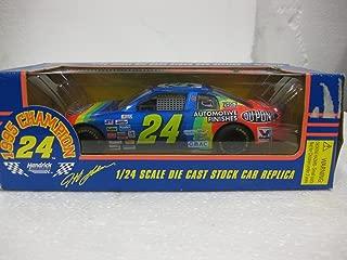Racing Champions Nascar 1/24 Scale Die Cast Stock Car 1995 Champion #24 Jeff Gordon
