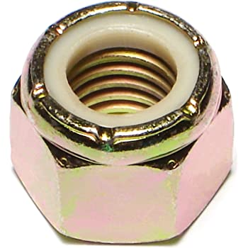 Piece-5 5//8-11 Hard-to-Find Fastener 014973323332 Thin Pattern Nylon Insert Lock Nuts