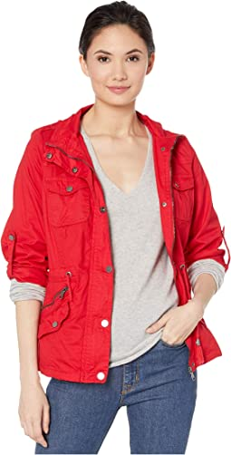 Jersey Lined Cotton Anorak