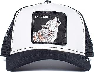 Goorin Bros. `Big Howler` Animal Farm Trucker Snap Back Baseball Hat Black