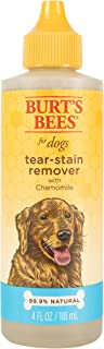 Burt's Bees for Dogs Natural Tear Stain Remover with Chamomile | Puppy and Dog Tear Stain Remover, 4 Ounces