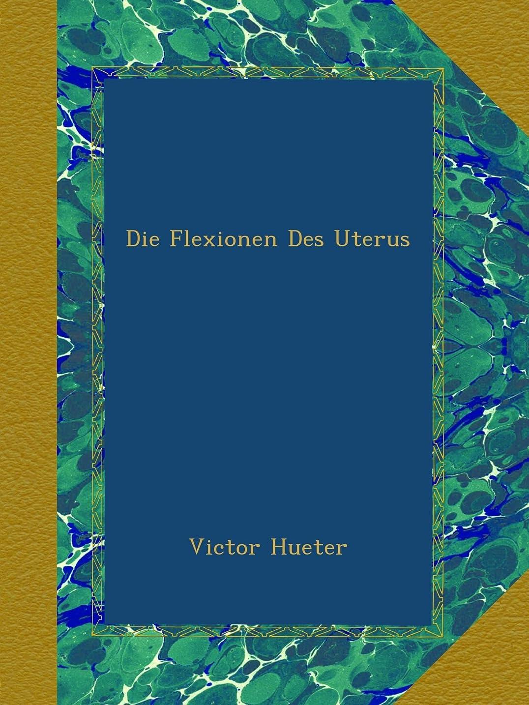 法律により色合いミネラルDie Flexionen Des Uterus