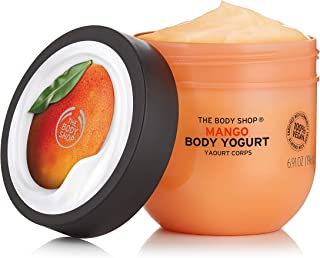 The Body Shop Mango Body Yogurt, 48hr Moisturizer, 100% Vegan, 6.98 Fl Oz