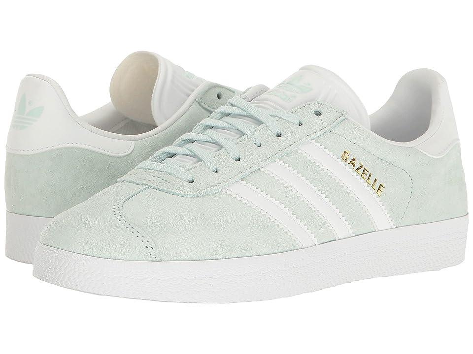 adidas Originals Gazelle (Ice Mint/White/Gold) Women