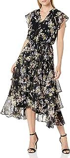 Women's Printed Sleeveless Dress