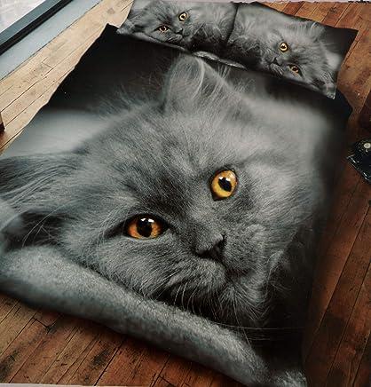 Amazon.it: gatto - Piumini e copripiumini / Biancheria da letto ...