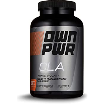 OWN PWR CLA Supplement, Conjugated Linoleic Acid 800 mg, 180 Softgels, Value Size