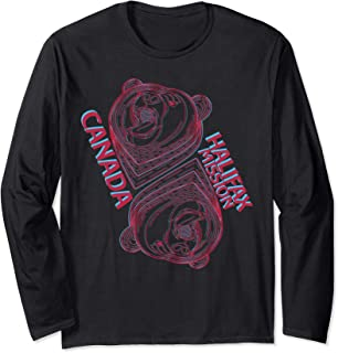 Canada Halifax Mission LDS Mormon Missionary Gift Bear Long Sleeve T-Shirt