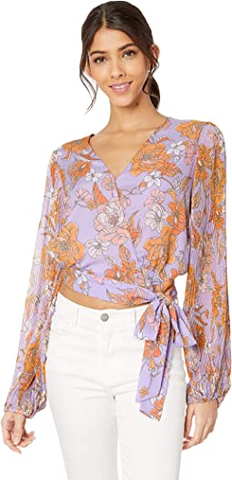 Electric Lilac Floral
