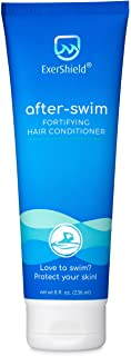 Exershield Swimmers Conditioner - After Swim Chlorine Conditioner for Swimmers – Chlorine Odor, Bromine & S...