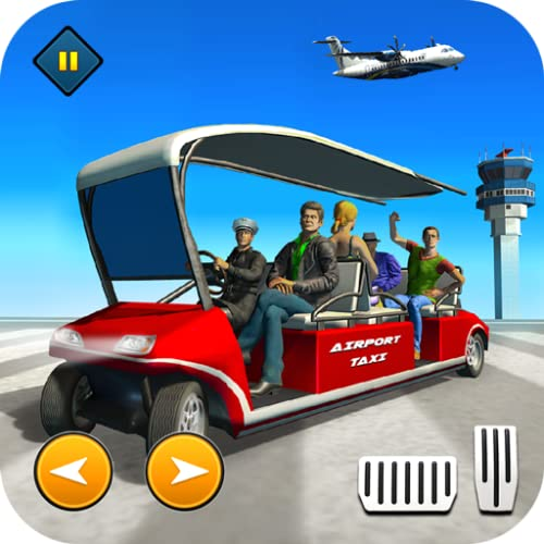 Airport Taxi Driving Game - Airport Smart Taxi Pro Parking Simulator