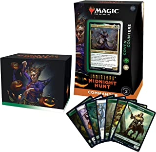Magic: The Gathering Innistrad: Midnight Hunt Commander Deck – Undead Unleashed (Blue-Black)