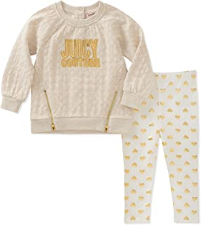 Juicy Couture Girls' Tunic Legging Set