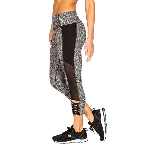 5d0f248d847c2e RBX Active Women's Fashion Capri Legging with Mesh Inserts