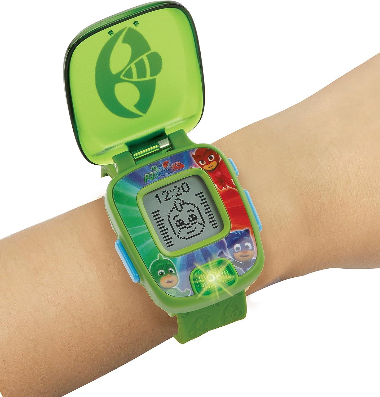 VTech- Superlernuhr Gecko Reloj de Aprendizaje, Color Verde (80-175884)