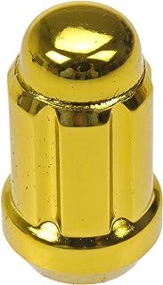 Dorman 20 Stück Gold Kontermuttern mit Schlüssel M12 1,50 Gewindegröße 711 355K