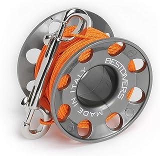 Best Divers ML0077S,Tech Reel Hole 31 Atecalic 树脂中性款 - 成人,灰色,均码