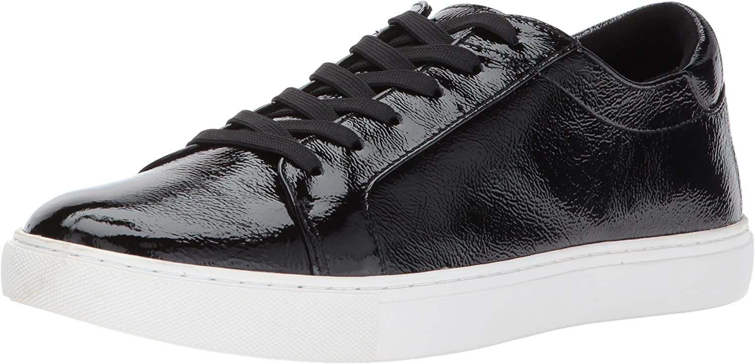 Kenneth Cole New York Womens Kam Techni-Cole Lace Up Sneaker Patent Fashion Sneaker
