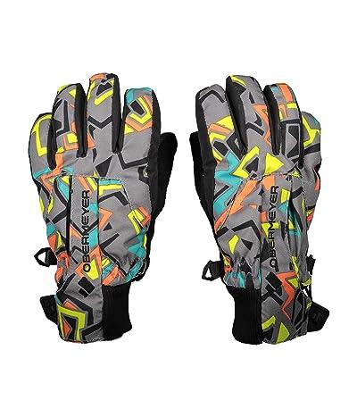 Obermeyer Kids Thumbs Up Gloves Print (Little Kids/Big Kids) (Throwback) Extreme Cold Weather Gloves