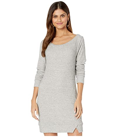 LAmade Broadway Brushed Knit Sweater Dress (Heather Grey) Women