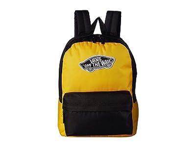 Vans Realm Backpack (Mango Mojito/Black) Backpack Bags