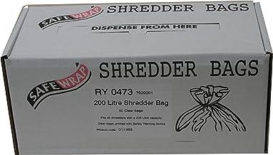 RY SAFEWRAP SHREDDER BAGS 200 LITRE PK50