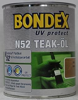 Bondex N52 UV protect Öl Teaköl 0,75 Liter teak